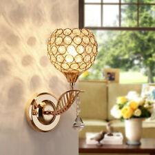 Modern Crystal Wall Sconce Lamp LED Light Lighting Fixture One-head Indoor Decor