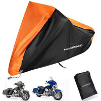 3XL Waterproof Bike Motorcycle Cover For Harley Davidson Street Glide Touring US