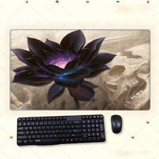68cm*38cm Anime Magic The Gathering Black Lotus Extral Large Mouse Pad Play Mat