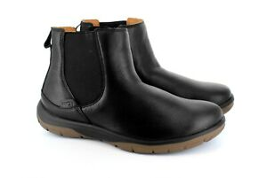 Strive Footwear, Black Chelsea Women's Orthotic Boots, built-in Arch Support