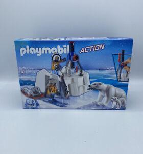 PLAYMOBIL ACTION 9056 Polar Ranger mit Eisbären NEU OVP