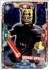 Lego Star Wars Trading Card Collection Série 2 Ultra Duel cartes Choisir