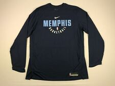 NEW Nike Memphis Grizzlies - Blue Poly Long Sleeve Shirt (2XLT)