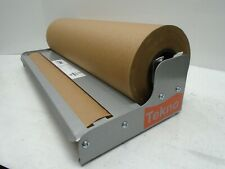 """20"""" Roll Paper Holder Cutter Dispenser Gift Wrap Kraft Paper Tekno Duralov"""