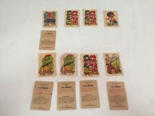 HR Pufnstuf Stickers Sid Marty Krofft 1969 Vintage Kelloggs Cards Mixed Lot READ
