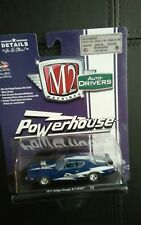 M2 MACHINES.. 1/64 SCALE.. 1971 DODGE CHARGER R/T..   HEMI POWERHOUSE NEW