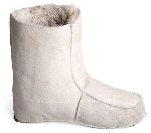 Russian Fur Socks | 100% Natural Sheepskin | Winter | Slippers | Wool