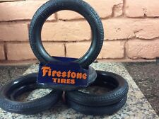 Buddy L Pressed Steel Tires For Open Door Dual Wheel Trucks 5 Inch 6 Of Them