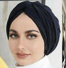 Bufanda Hijab Cabeza Envoltura Stretch guardián cáncer quimioterapia Cap con lazo turbante musulmán