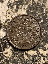 1912 Netherlands 1/2 Cent Lot#Q7892