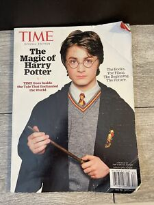 Time Magazine Special Edition Issue The Magic of Harry Potter 2018 Free Shi