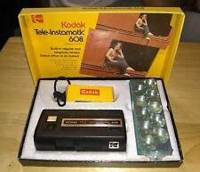 Vintage 1970's Kodak 110 Tele-Instamatic 608 Camera / antique classic photo pic
