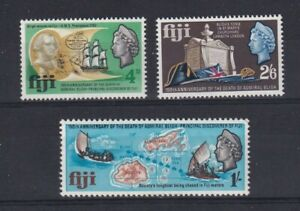 FIJI 1967 150th Anniversary of the Death of Admiral Bligh Set MNH