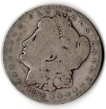 "1884 ""Morgan"" Dollar-STATI UNITI PHILADELPHIA Menta - 0.900 Argento"