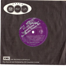 """ANDREW SISTERS - MEDLEY / HOLD TIGHT - RARE PROMO 7"""" 45 VINYL RECORD 1976"""