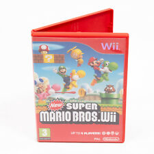 New Super Mario Bros Nintendo Wii - Complete With Manual