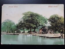 Wantsead Leytonston WHIPPS CROSS HOLLOW POND shows BOAT HUT c1905