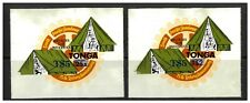 Tonga 1980 T$5 Surcharges On Scout/Rotary 25s & T$2 Stamps SG773a/b MUH 12-1