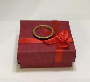 Hidalgo designer signed black enamel ring 18 karat yellow gold band