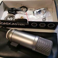 Rode Microphones Broadcaster - Praticamente Nuovo! - Mai utilizzato!