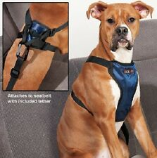 DELUXE CAR HARNESS by Solvit - BUILT FOR COMFORT - LARGE
