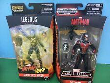 """2015 Marvel Legends 6"""" ANT-MAN & WASP (2) Figure LOT"""