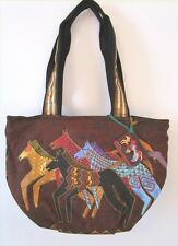 Laurel Burch - Small Tote - Native Horses - NWT