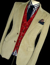 NEW RARE MENS VIVIENNE WESTWOOD LONDON CORDUROY CORDS SUIT JACKET BLAZER 42R