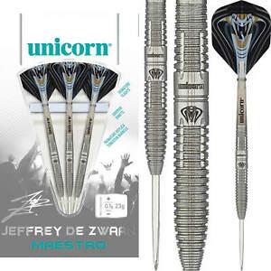 Unicorn   Jeffrey De Zwaan Darts   23g 25g   Maestro   Steel Tip   90% Tungsten