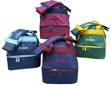 ACCLAIM Staple Mini Double Decker Two Tier Bowling Bowls Bag & 4 Bowls Carrier
