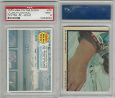 1969 Topps, Man On The Moon, #35 Launch Control Center, PSA 9 Mint
