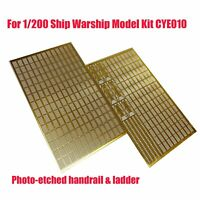 Photo-etched Handrail & Ladder Stand Set for 1/200 Ship Warship Model Kit CYE010