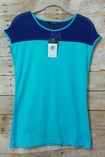Lauren ralph lauren new shirt XS extra small short sleeve blue free ship casual