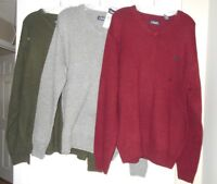"""Chaps mens sweaters vneck """"Kent"""" Style # 63504 assorted sizes and colors NWT"""