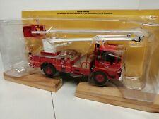 Hachette Pompiers 1/43 #90 berliet 770 KB bras élévateur EGI pompiers Moselle
