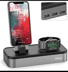 Oittm 5-in-1 Docking Station For Apple Watch And Iphone