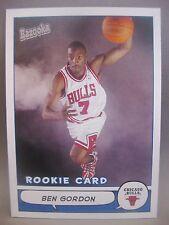 BEN GORDON 2004-05 BAZOOKA RC #166 CHICAGO BULLS ROOKIE CARD