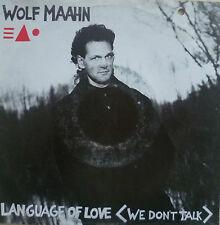"7"" 1988! wolf maahn Language of love // MINT -? \ \"