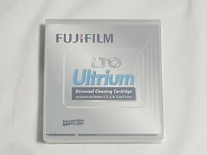 NEW Fujifilm LTO Ultrium Universal Cleaning Cartridge for Drive 1 2 3 4 5 & 6