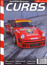 Curbs Nr. 9 - Historischer Rennsport, Maserati, Formel Vau, Spa 1970, Porsche