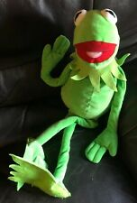 "Kermit The Frog Muppets Plush 28"" Long Soft Toy Disney Posh Paws Muppet Show"