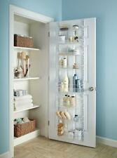 Adjustable Over the Door Storage Rack Organizer 8 Tier Shelf Kitchen Pantry Bath