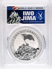New Listing2020 $1 Iwo Jima 75th Anniversary 1oz Silver Coin Pcgs Ms70 First Day of Issue