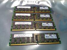 16GB 4x 4GB DDR2 REG ECC PC2-6400P 800MHz Hynix HYMP151P72CP4  HP 504465-061