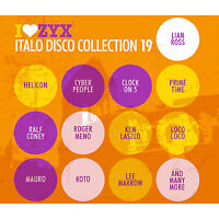 ITALO CD ZYX Italo Disco Collection Volume 19 di vari artisti 3 CD