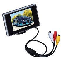"3.5"" TFT LCD Color Screen Car Rear View Monitor DVD DVR HD 640X480 resolution AV"