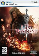 The Last Remnant (PC DVD) BRAND NEW SEALED