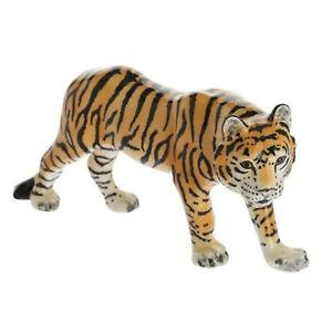 John Beswick Hand Painted Ceramic Bengal Tiger Figurine JBNW1 Approx 10cm H