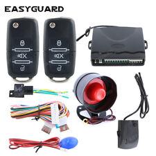 EASYGUARD Car Alarm system keyless entry trunk release central door shock alarm