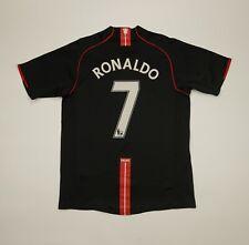 Cristiano Ronaldo #7 Manchester United 2007 2008 2009 Away Football Shirt Jersey